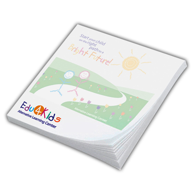 2 3/4 x 3 full color post-it® notes (25 sheets)