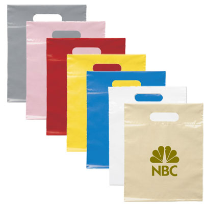 die cut handle bag (12 h x 9 1/2 w)