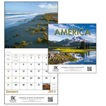 Promotional Landscapes of America 2013 - Stapled Calendar