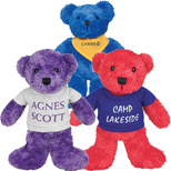 Customized Teddy Bears - Color Day Bears