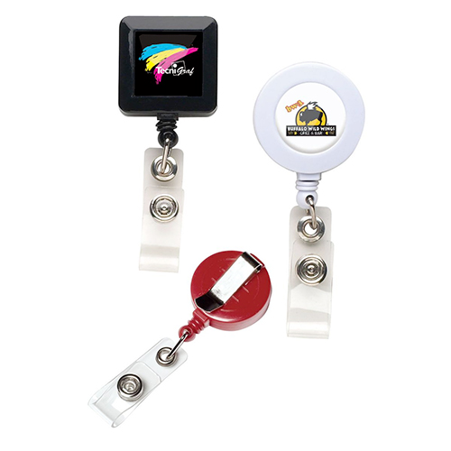 retractable badge reels