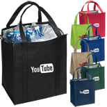 Printed Promotional Bags with Logo - ECO Therm-O-Tote, Eco Friendly Corporate Gifts, Eco Friendly Promo Items