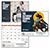 Saturday Evening Post Norman Rockwell Calendar 13349 Inside