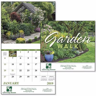 garden walk stapled calendar