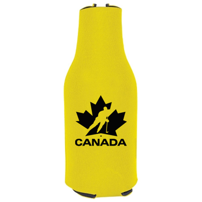 zip-up bottle koozie