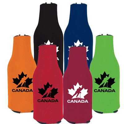 zip-up bottle koozie