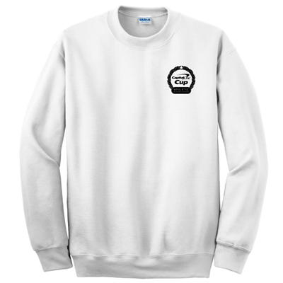 Gildan Crewneck Sweatshirt White