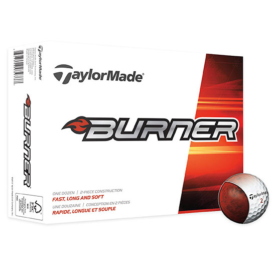 TaylorMade® Burner Golf Ball Std Serv
